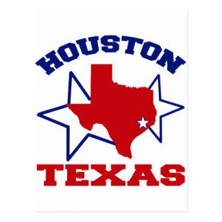 Carte Postale Houston, le Texas