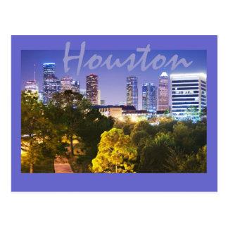 Carte Postale Houston, le Texas, Etats-Unis