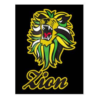 Carte postale HQ. Custom Lion Edition