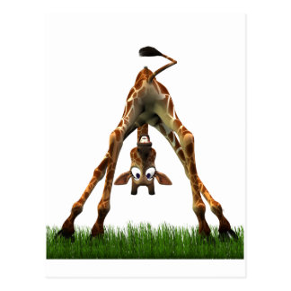 Carte Postale Huez ! Dit la girafe d'Olympia