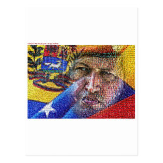 Carte Postale Hugo Chavez - le Venezuela