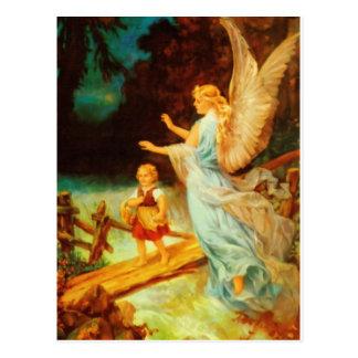 Carte Postale Huile de l'ange gardien 9 de Heiliger Schutzengel