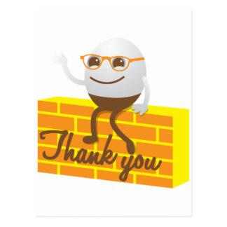 Carte Postale Humpty Dumpty vous remercient