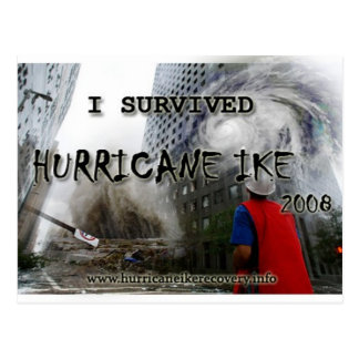 Carte Postale hurricane_ike_collage_shirt_front