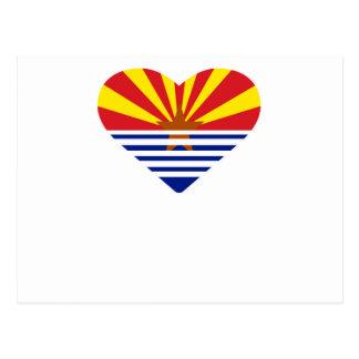 Carte Postale I coeur Arizona