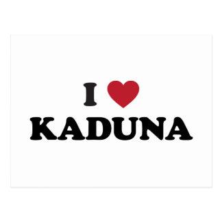 Carte Postale I coeur Kaduna Nigéria