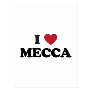 Carte Postale I coeur Mecque Arabie Saoudite