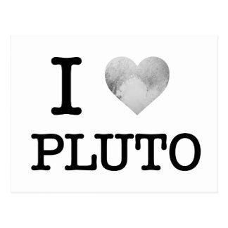 Carte Postale I coeur Pluton