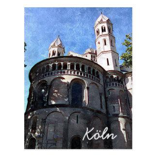Carte Postale I Cologne love