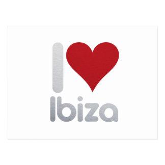 CARTE POSTALE I LOVE IBIZA