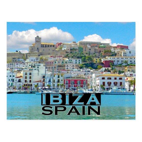 Carte Postale Ibiza   Zazzle.fr