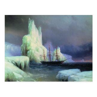 Carte Postale Icebergs d'Ivan Aivazovsky- dans l'Océan