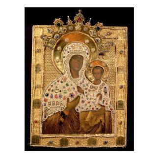 Carte Postale Icône de la Vierge, monastère de Smolenskaja