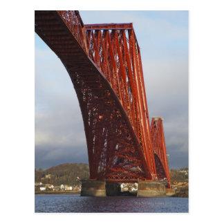 Carte Postale Iconique clôturez en avant le pont