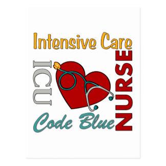 Carte Postale ICU - Infirmière