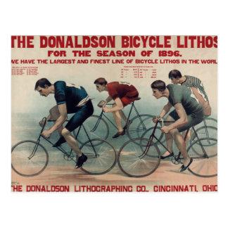 Carte Postale Idées vintages de cadeau de bicyclette pour des