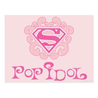 Carte Postale Idole de bruit de Supergirl