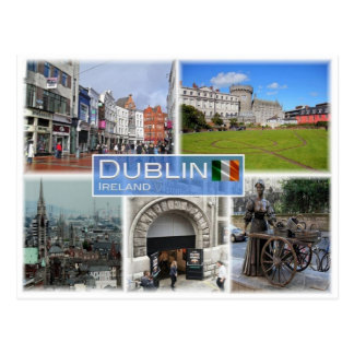 Carte Postale IE Irlande - Dublin -