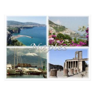 Carte Postale IL l'Italie - l'Italie - Naples -