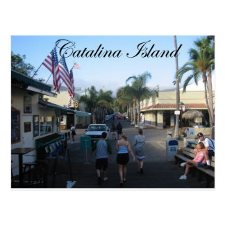 Carte Postale Île 6 de Catalina