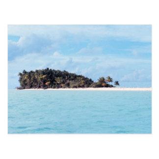 Carte Postale Île abandonnée