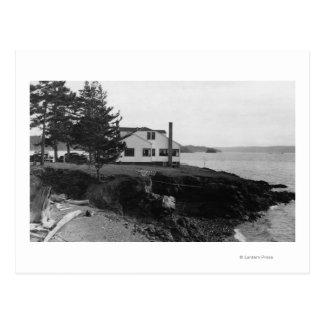 Carte Postale Île Caf� de l'espoir de Fahlen dans des îles de