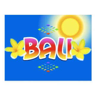 Carte Postale Île de Bali