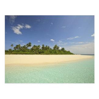 Carte Postale Île de Baughagello, atoll du sud de Huvadhoo, 2