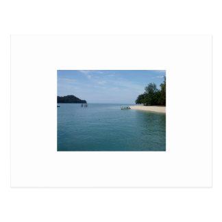 Carte Postale Île de Beras Basah, Malaisie