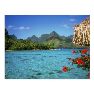 Carte Postale Île de Bora Bora, Polynésie française