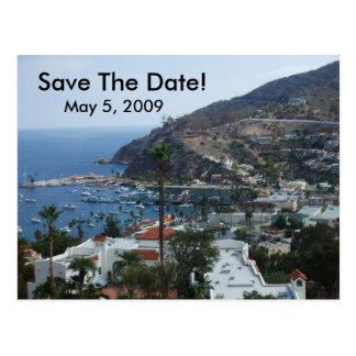 Carte Postale Île de Catalina