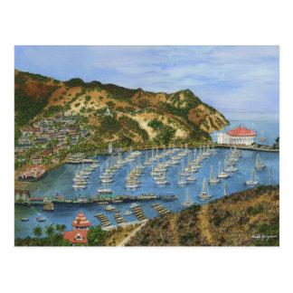 Carte Postale Île de Catalina, CA - mini copies collectables