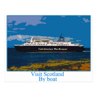 Carte Postale Île de ferry d'Arran - Ecosse