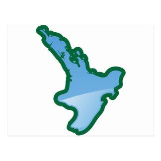 Carte Postale Île de nord de NZ