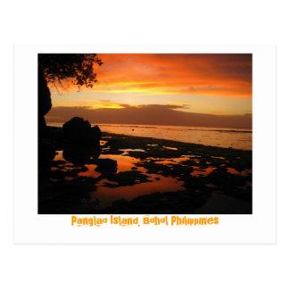 Carte Postale Île de Panglao, Bohol Philippines
