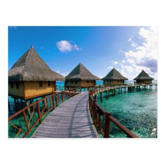 Carte Postale Île de Polinesia