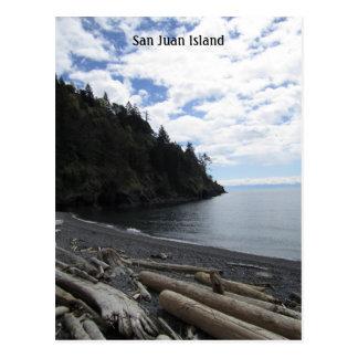 Carte Postale Île de San Juan
