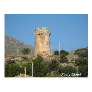 Carte Postale Île de Tonara Sicile