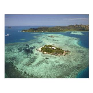 Carte Postale Île de Wadigi, îles de Mamanuca, Fidji