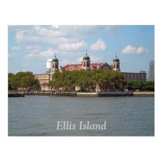 Carte Postale Île d'Ellis