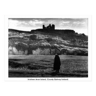 Carte Postale Île d'Inisheer Aran, Cie. Galway Irlande