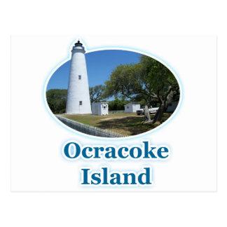 Carte Postale Île d'Ocracoke, la Caroline du Nord