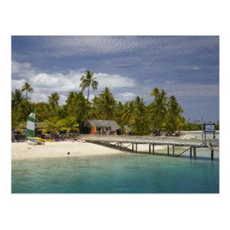 Carte Postale Île-hôtel de plantation, île 3 de Malolo Lailai