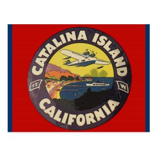 Carte Postale Île la Californie de Catalina