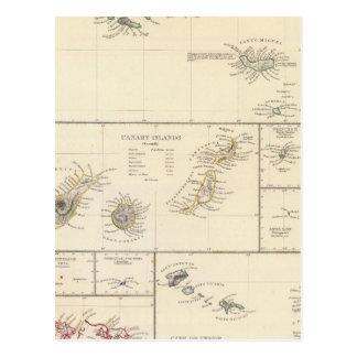 Carte Postale Îles atlantiques