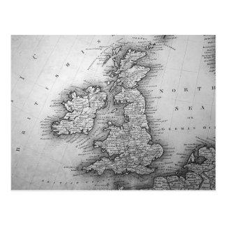 Carte Postale Îles britanniques