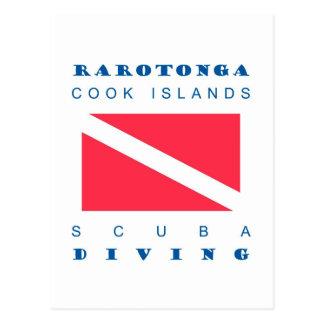 Carte Postale Îles Cook de Rarotonga