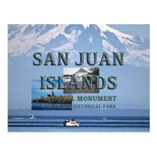 Carte Postale Îles d'ABH San Juan