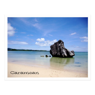 Carte Postale Îles de Caramoan - roche de Sabitang Laya