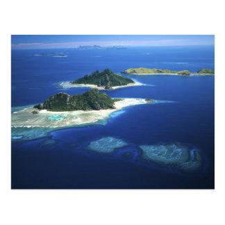 Carte Postale Îles de Monuriki, de Monu et de Yanuya, Mamanuca